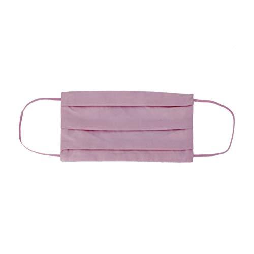CODELLO Damen Nasenmaske Gesichtsmaske | Mund-Nasen-Maske aus Reiner Baumwolle, Light Pink, Einheitsgröße