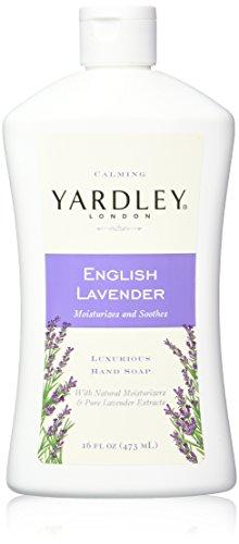 Yardley London English Lavender Liquid Hand Soap Refill, 16 Ounce