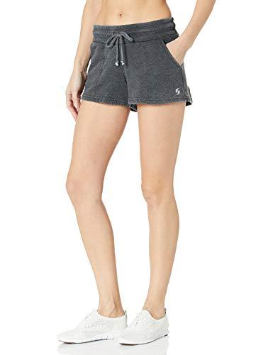 Soffe Women's Fleece Short, Black, Small