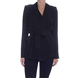 FEDERICA TOSI Luxury Fashion Damen FTE20GI1100001 Schwarz Baumwolle Blazer | Frühling Sommer 20