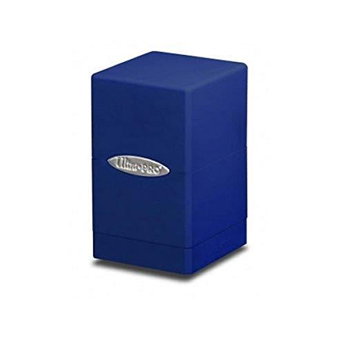 Ultra PRO - Satin Tower Deck Box - Blue [Importato dalla Germania]