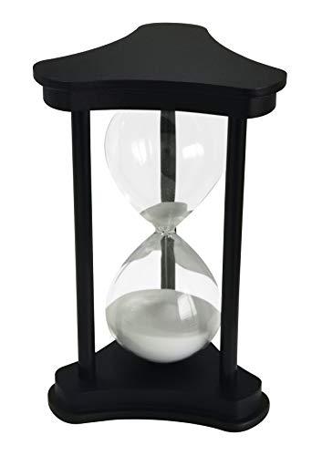 Temporizador De Reloj De Arena Durante 30 Minutos Decoración Para Cumpleaños Estante De Libros Juego De Escuela Aprendizaje Temporizador De Reloj De Arena 30 Minutos Ornamento Hourglass Timer Blanco