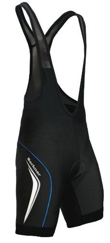 BERKNER Radhose Bikehose, Trägerhose Model Derek TR, Gr. XXXL, schwarz - blau
