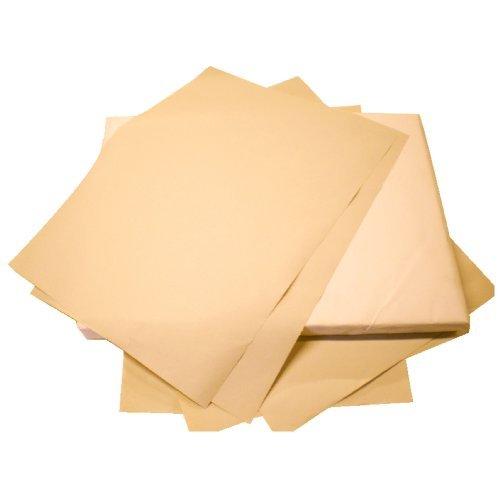 Einweg-Autobodenmatten aus braunem Papier, 250er-Pack (flach verpackt)