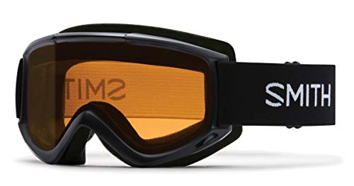 Smith Optics Adult Cascade Classic Snow Goggles Black Frame/Gold Lite