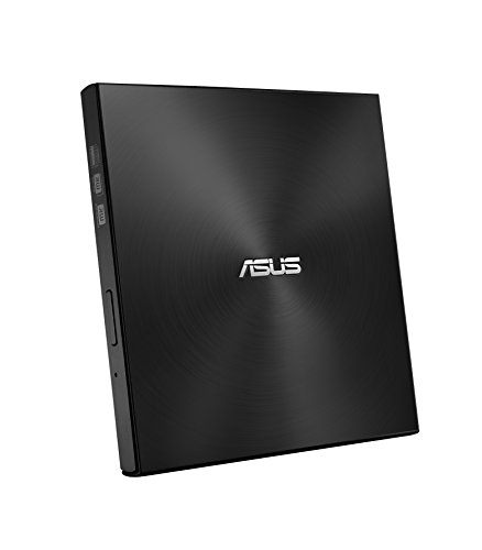 Asus ZenDrive U7M externe dvd-brander (voor Apple MacBook & Windows PCs/notebooks, incl. 2x M-disk connectoren, Brandsoftware & Nero Backup App, M-Disc Support, USB 2.0) zwart
