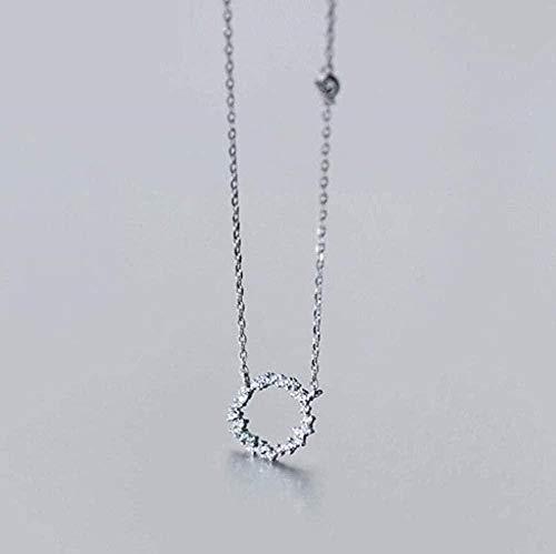 huangxuanchen co.,ltd Necklace Necklace Blue Ocean Legend Necklace Tide River Ocean Circle Circle Necklace
