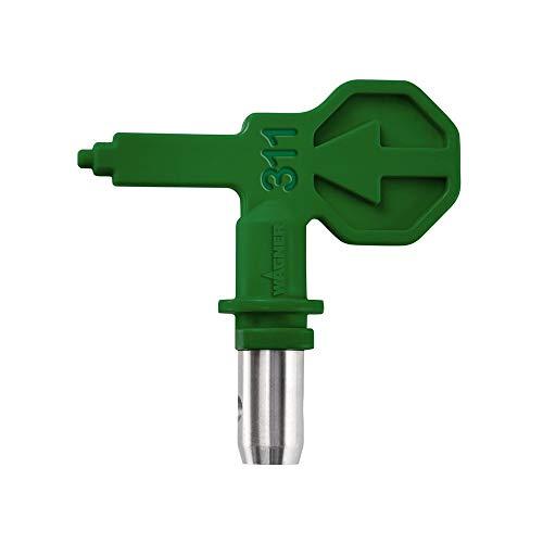 WAGNER Control Pro HEA Düse 311 für WAGNER Control Pro Airless Farbsprühsysteme für Lasuren, Lackfarben, Öle und Trennmittel, < 55% weniger Sprühnebel, grün
