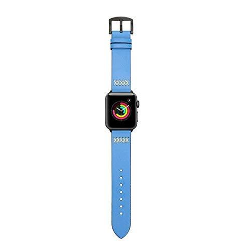 Correa de cuero para Apple Watch 4 Band 4 4 m 40mm iwatch Band 42mm 40mm Correa pulseira Pulsera para reloj compatible con Apple Watch 5 4 3 2