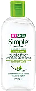 Simple Kind To Skin Eye Make-up Remover Dual Effect, 125ml