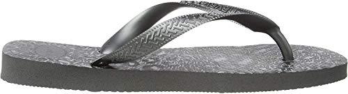 Havaianas Top Animals, Infradito Donna, Multicolore (Grey Steel/Metallic Graphite 5037), 39/40 EU