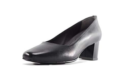 Zapatos de Corte Tacones de Cuero de Forma Ancha - Modelo Anna