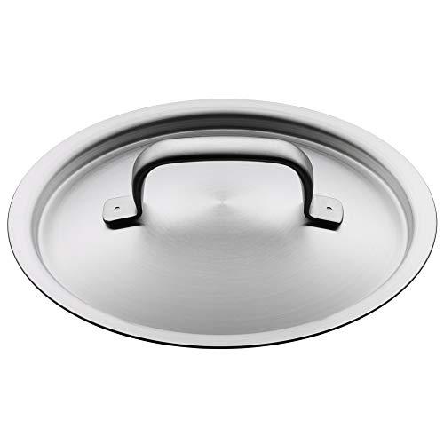 WMF Gourmet Plus Topfdeckel 16 cm, Cromargan Edelstahl mattiert, Metalldeckel, spülmaschinengeeignet