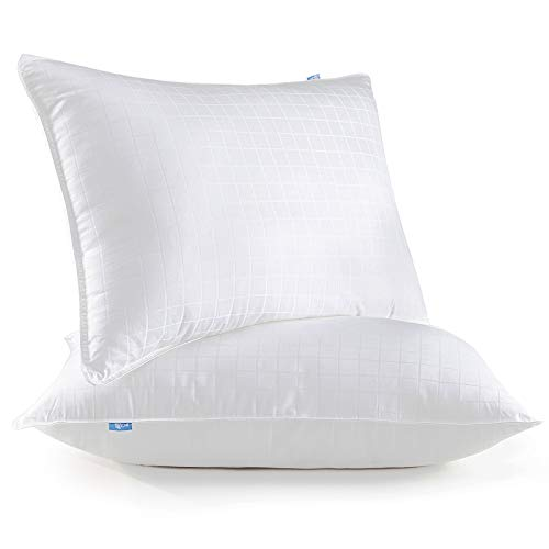 Lifewit Bed Gel Pillows for Sleeping (2-Pack) - Luxury Down...