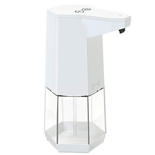 AD ADTRIP Automatic Soap Dispenser, Touchless Hand Sanitizer Soap Dispenser 360ml Motion Sensor Soap Pump for Bathroom Kitchen Toilet Office Hotel
