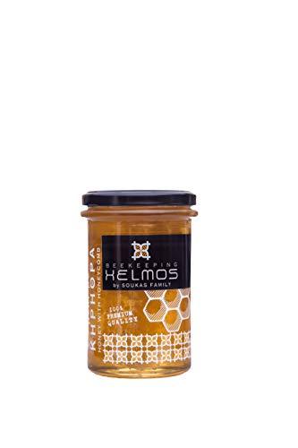 Helmos Griechischer Honig mit Bienenwabe, 350 g