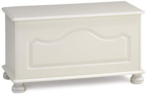Steens Richmond Betttruhe, 82 x 44 x 39 cm (B/H/T), MDF , weiß
