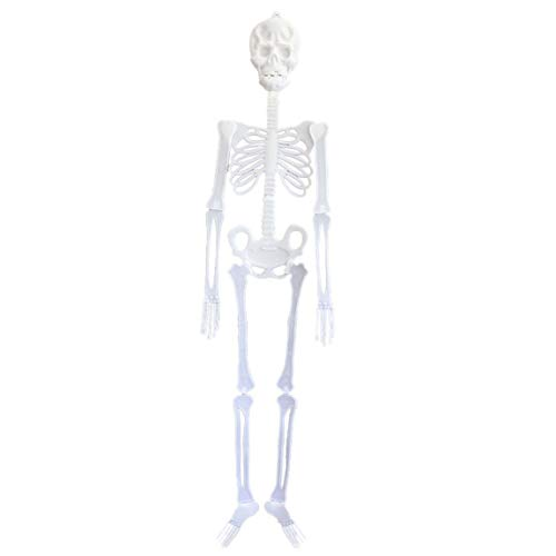 SeniorMar-UK Halloween Dekoration Bar Ktv Szene Scary Luminous Skeleton Skeleton Luminous Anhänger