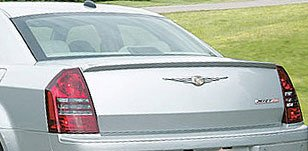 Accent Spoilers - Spoiler for a Chrysler 300 / 300C SRT-8 Lip Mount Factory Style Spoiler-Cool Vanilla Paint Code: PWG
