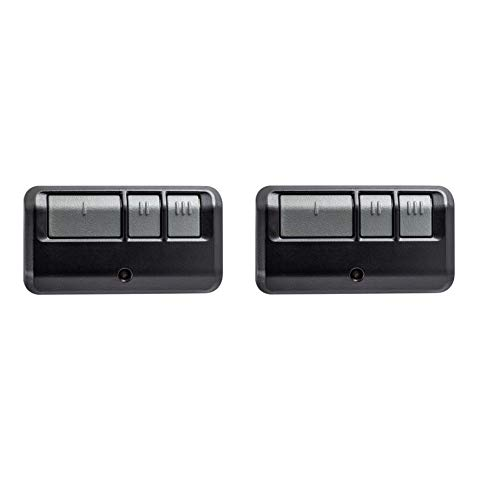 893LM 953ESTD Remote Control 2Pack Compatible for Liftmaster Chamberlain Craftsman Garage Door Opener with Yellow Learn Button Security+ 2.0 myQ