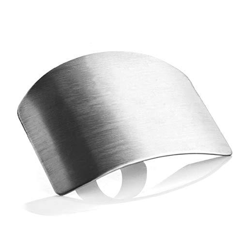 Edelstahl Fingerschutz Safe Slice Hand Cut Guard Küchen-Fingerschutz zum Schneiden und Hacken