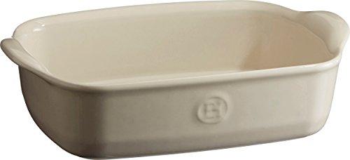 Emile Henry, Piatto da Forno Singolo in Ceramica, Ceramica, Argilla, 22 x 14 x 6 cm