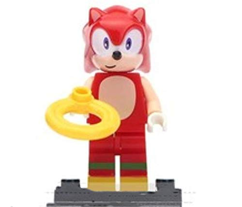 FENGHE Zusammengebauter Minifiguren Baustein Sonic Boy Sonic Amy Schatten Nakruth Shivre Fighting Boy Partikelblöcke