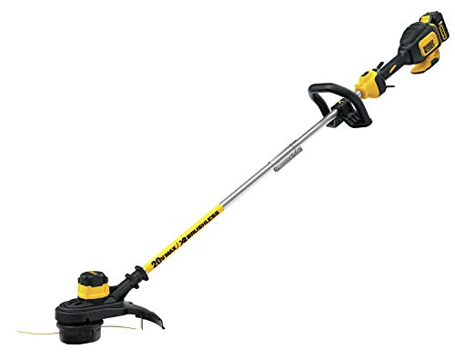 DEWALT 20V MAX String Trimmer, Brushless, 5-Ah Battery,...