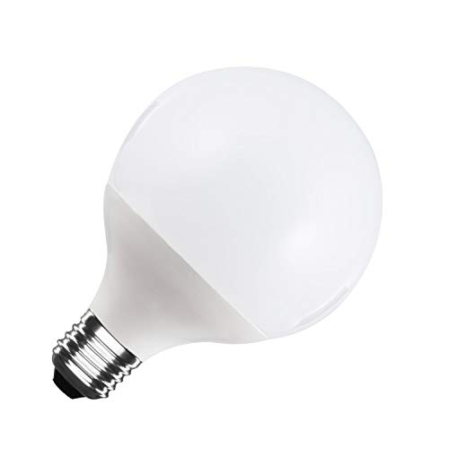 LEDKIA LIGHTING Bombilla LED E27 Casquillo Gordo G95 15W Blanco Frío 6000K - 6500K