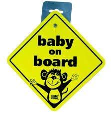 Global Accessorie Bébé à Bord Suspension Van Autocollant de Voiture et Caravane