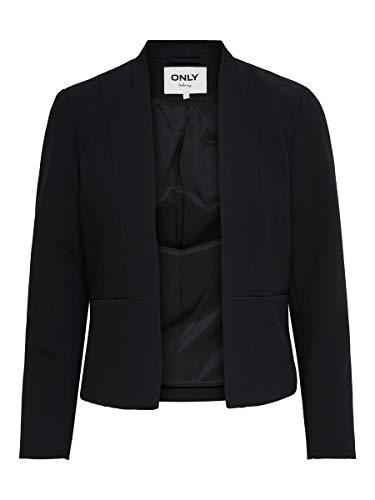ONLY Blazer clásico femenino negro 44
