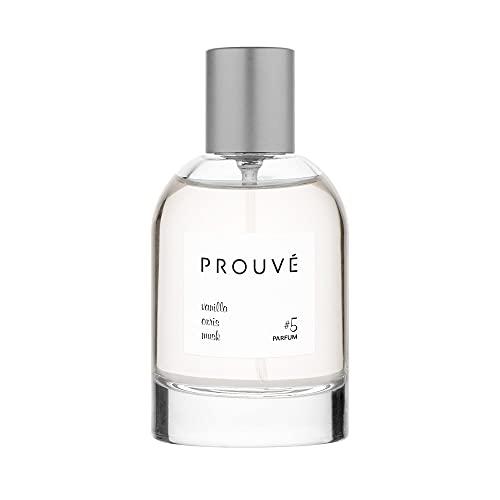 Prouve #5 Niche Perfume For Women Real Parfum Vanilla - Iris - Musk 50ml