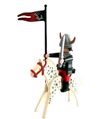 Playmobil ® 5385 ? Ritter mit Fahne, Schild und Apfelschimmel