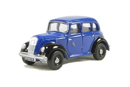 Oxford Diecast 76MES001 Blue Morris Eight E Saloon