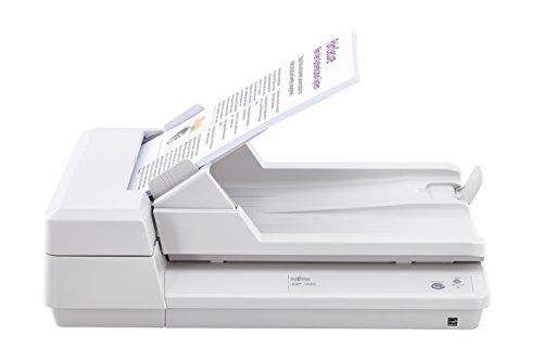 Fujitsu SP-1425 600 x 600 dpi Flatbed & ADF Scanner Blanco A4 - Escáner (216 x 297 mm, 600 x 600 dpi, 1200 x 1200 dpi, 24 bit, 8 bit, 1 bit)