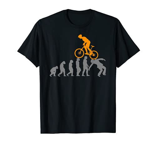 MTB Evolution Bike Mountain Accessories Bicycle T-Shirt