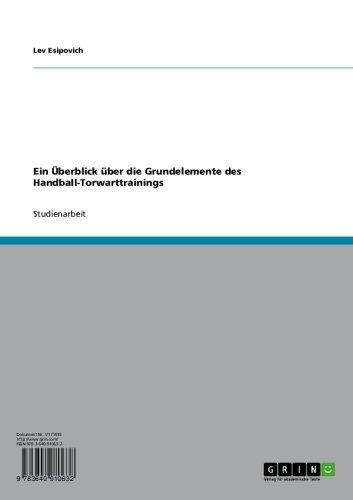 Ein Überblick über die Grundelemente des Handball-Torwarttrainings