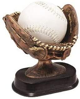 softball glove trophy