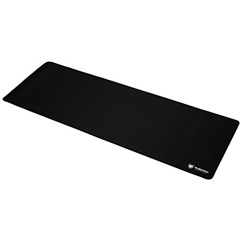 SubZERO Gaming TYKA Extended Soft Gaming Mouse Pad/Mat, Long XL Mousepad, Stitched Edges, 36