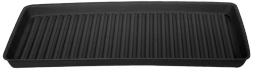 Eagle 1677B Containment Utility Tray, 36' Length x 18' Width x 2' Height, Black