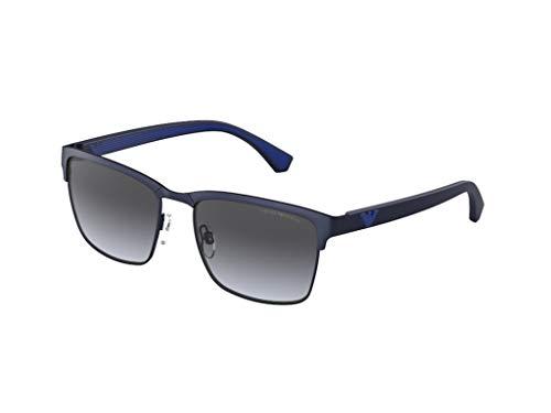 Emporio Armani Gafas de sol EA2087 30038G Gafas de sol Hombre color Azul gris tamaño de lente 56 mm