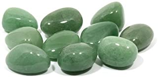CrystalAge Piedra de aventurina verde (20 – 25 mm) – Paquete de 10
