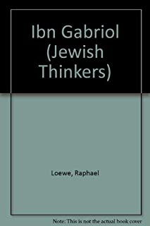 Ibn Gabirol (Jewish Thinkers)