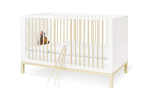 Pinolino 101602B Skadi - Habitación infantil ancha, color blanco, 1 unidad