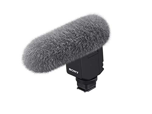 Sony ECM-B1M Gun - Micrófono (Mediante Multi-Interfaz, Zapato con Interfaz de Audio...