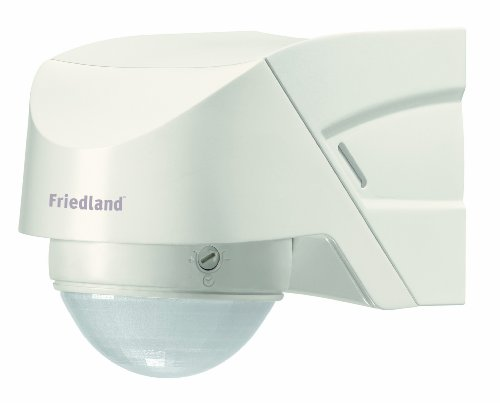 Friedland Spectra+ - Detector PIR, 360°, con mando a distancia, color blanco