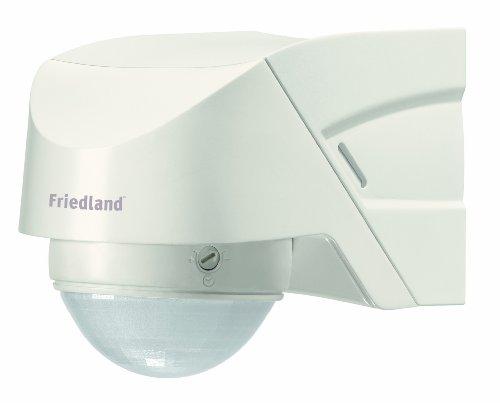 Friedland Spectra+ L330WHI Bewegungsmelder 360° inkl. Fernbedienung, weiß
