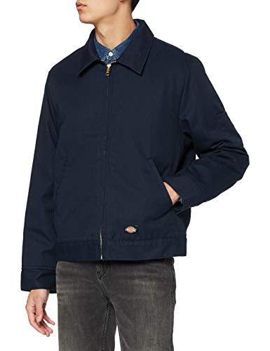 Dickies Herren LND Eisenhower Jk Jacke, Blau (Dark Navy DN), Medium