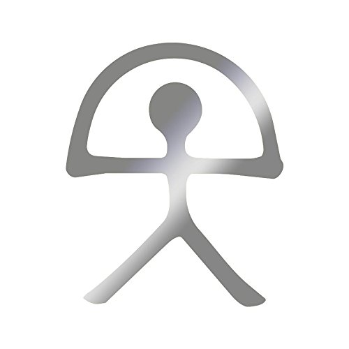 Sticker logo indalo Adhésif Autocollant - Plusieurs coloris disponibles Argenté