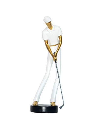 Amoy-Art Deco Golf Decoration Maison Fait Main Figurine Statue Sculpture Décoratif Piano Cadeaux...